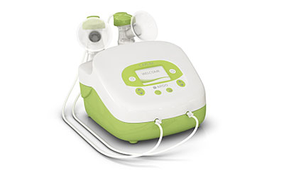 Breast pump rental station