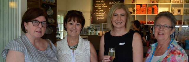 Key specialists attend fundraiser Iced Tea Party