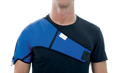 kinetec kooler shoulder
